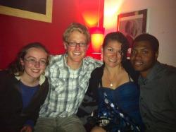 Katherine, Kevin, me, Stevaughn