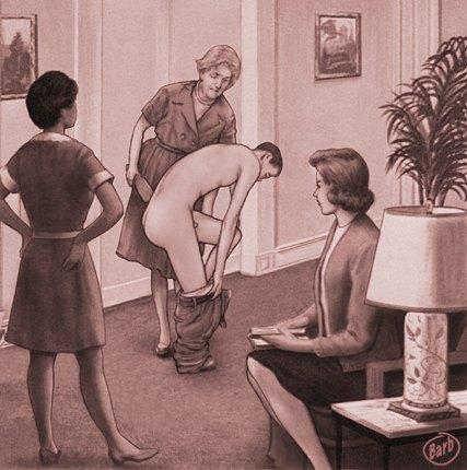 computer spanking art