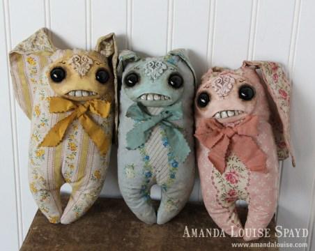 Amanda Louise Spayd Creepy Cute Plush Bunny Rabbits