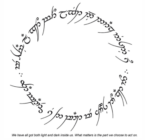 Tolkien Elvish Script