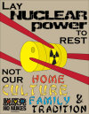"""Myles Brinkley """"Preserve Japan; Not Nuclear Power"""" By choosing to continue using Nuclear power as a source of energy, Japan is deciding to provide for a future for itself much like its past. At the same time, not only do the people suffer from radiation, but when a person passes away, so does Japanese homes; so do Japanese Families; and most of all, a bit of Japanese culture is removed from the world for good. Let's build a bright future for the children and people of Japan."""