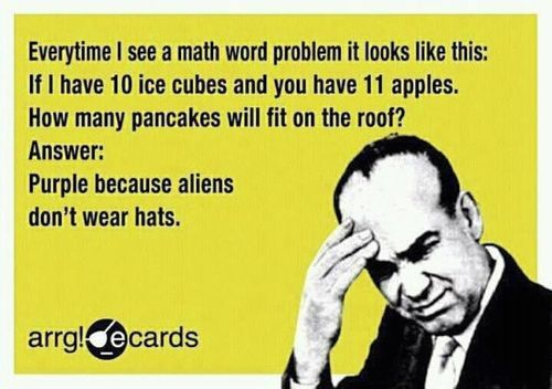 Sounds like math (funny,humor,school,exams,meme.)