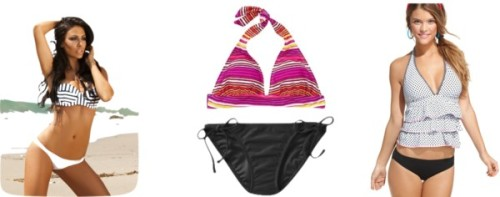 Swimsuits for a Big Butt by thehautebunny featuring coco rave swimwearCoco rave swimwear, $33Women's Mix Match Halter TopsWomen's Mix Match String Bikini Bottoms, $10