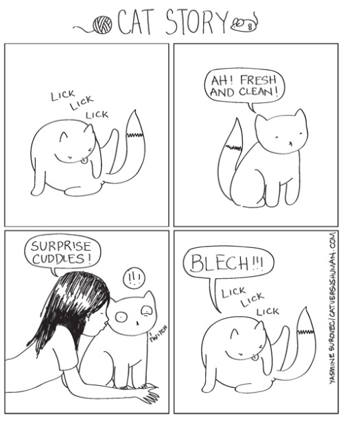 catversushuman: It's like I've got cooties or something.