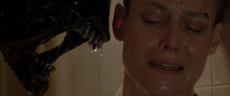 Sigourney Weaver (plus friend) in Alien 3