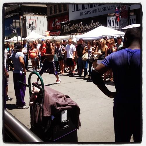 Street performers! (Taken with Instagram)