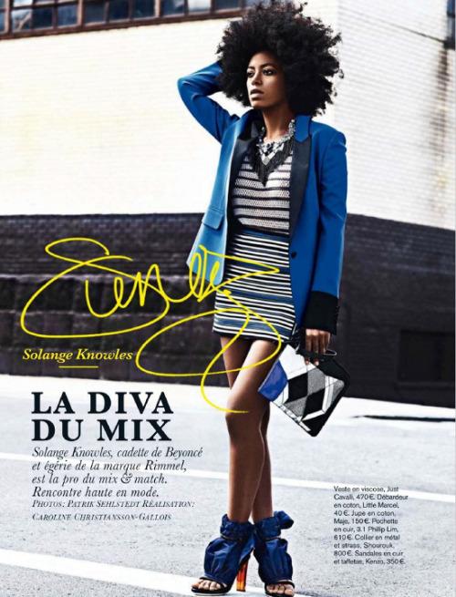 Solange - Glamour France