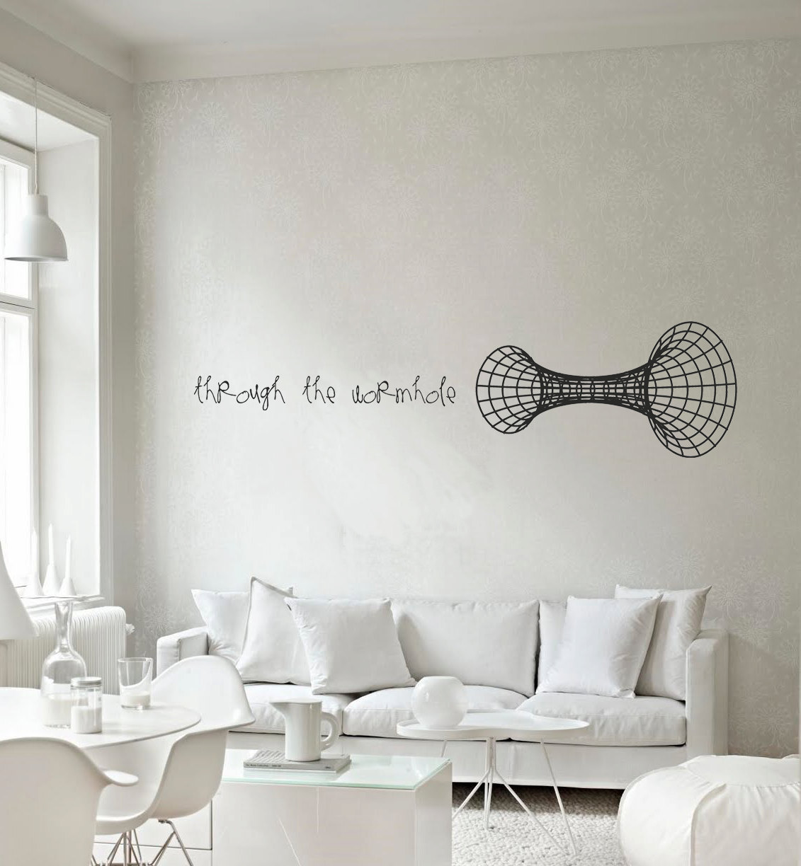 jtotheizzoe:  staceythinx:  Elegant ideas for an elegant home. These vinyl wall decals are available from the Cut N Paste Etsy shop.  Science-influenced wall decals should have a place in every home.
