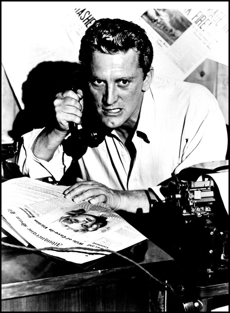 Kirk Douglas en El Gran Carnaval, 1951