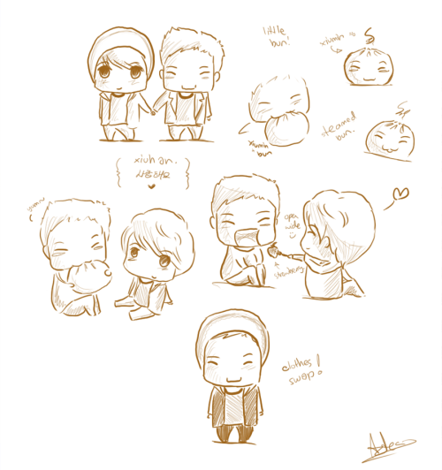Xiuhan Sketches by ~tangerine-skye