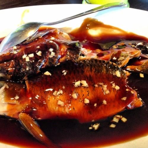 """杭州""""外婆家""""的西湖醋鱼"""