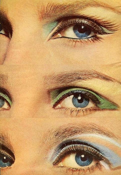 1960s sixties eye makeup