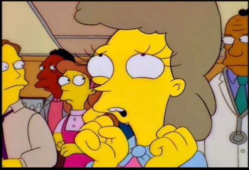 won't somebody please think of the children the simpsons helen
