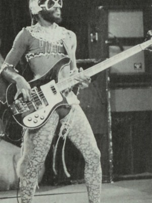 "Cordell ""Boogie"" Mosson bassist of Parliament-Funkadelic. 1952-2013"