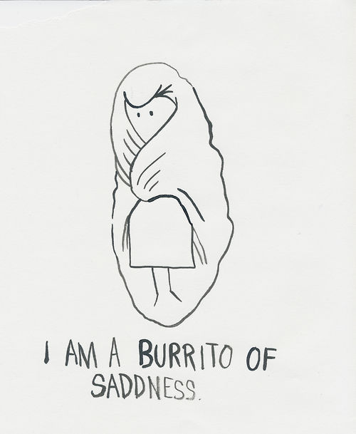 Sadness Burrito