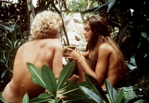 Christopher Atkins and Brooke Shields - The Blue Lagoon (1980) ♥