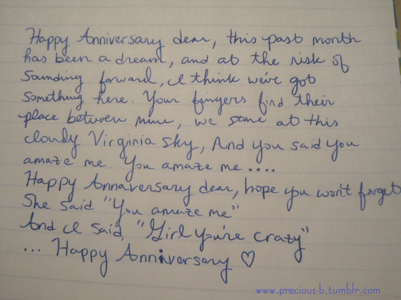 Cute one year anniversary quotes