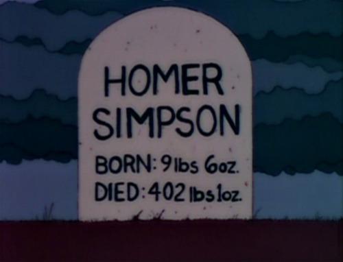 homer tombstone