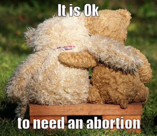 pro-choice-teddy-bear:pro-choice-teddy-bear:[Image: Two teddy bears hugging. Top text: It is Ok … Bottom text: to need an abortion. \end transcription]There is this huge, super-shamey anti-choice billboard campaign going on in my city right now. It's been pissing me off, so I decided to make a pro-choice teddy bear. Because whatever you need to do is ok. No matter what it says on those awful billboards. <3Bringing this one back. This was Pro-Choice Teddy Bear's very first post.How did I not know about Pro-Choice Teddy Bear before?!