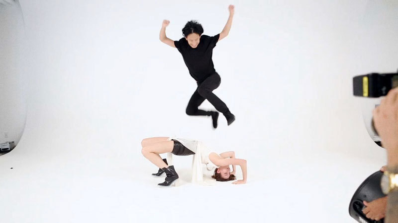 "Alexander Wang Tumbles Behind-the-Scenes with Terry Richardson<br /><br /><br /><br /><br /><br /><br /> for ""I'll Tumblr For Ya"", stay tuned for the full editorial launching September 14th"