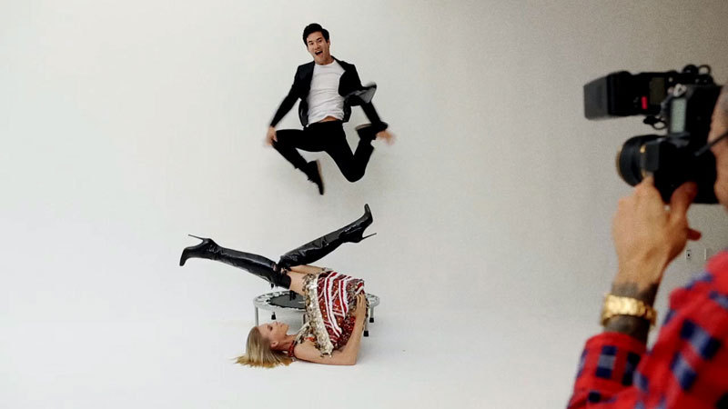 "Joseph Altuzarra Tumbles Behind-the-Scenes with Terry Richardson<br /><br /><br /><br /><br /><br /><br /> for ""I'll Tumblr For ya"", stay tuned for the full editorial launching September 14th"