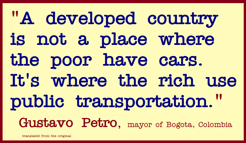 Rich Country Poor Country Quote Turn Left - Rich countries and poor countries