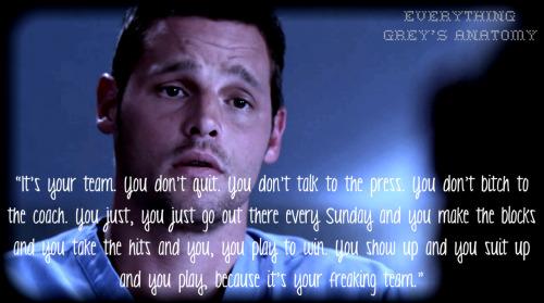 Anatomy Alex Karev Greys Quotes