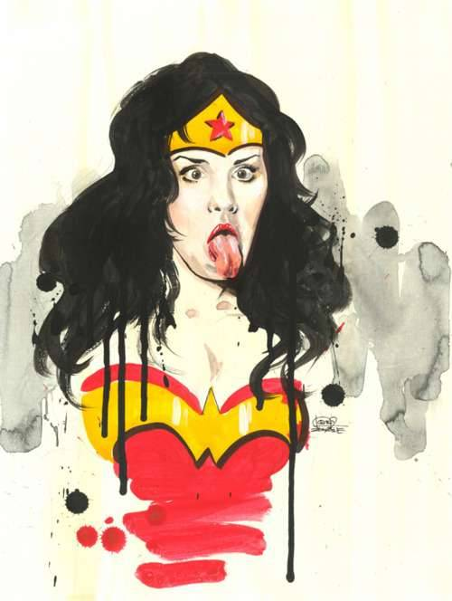 In gallery paris hilton superheroine super lady