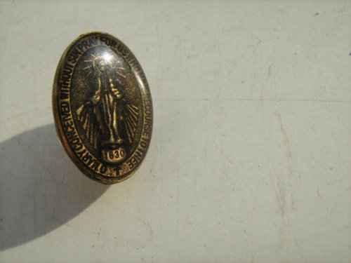 Basics: Holy Christ lapel pin<br />Just a tiny little lapel pin of Jesus.<br />Click through for listing.
