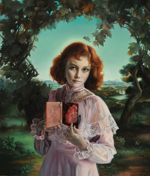 "cardiac-art:""Heart Throb"" by David Bowers"
