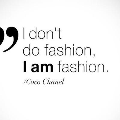 Fashion Quote of the Week
