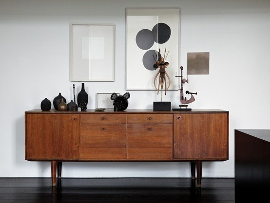 The 50s interior design trend  emdeco -> Tv Sideboard Braun