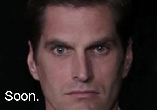 Josh Romney in the audience of tonight's debate.