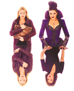 Emma and Regina from Once Upon a Time