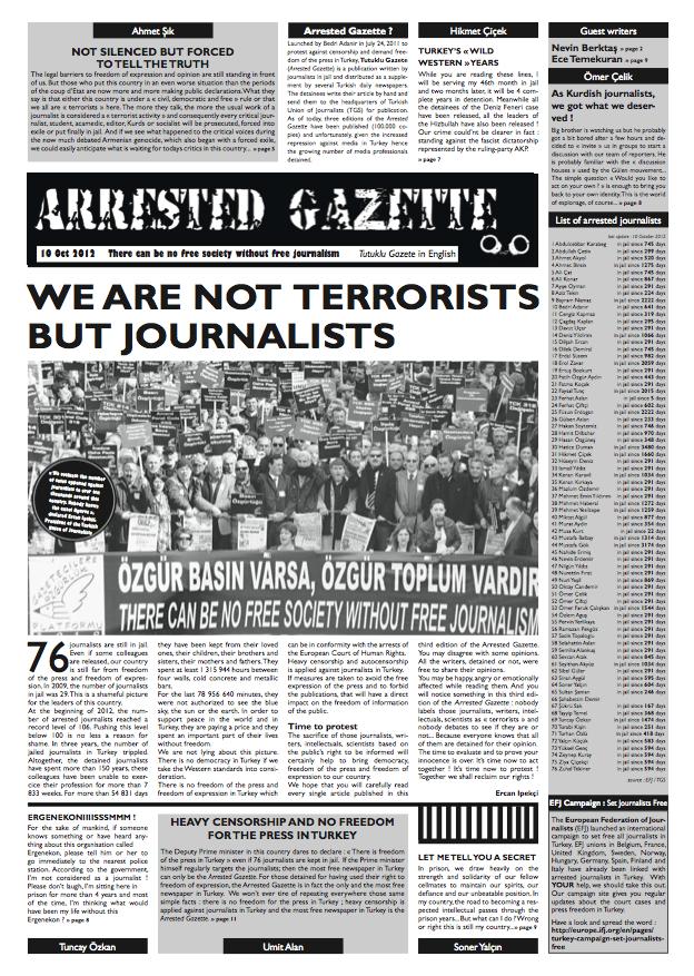 Arrested Gazette