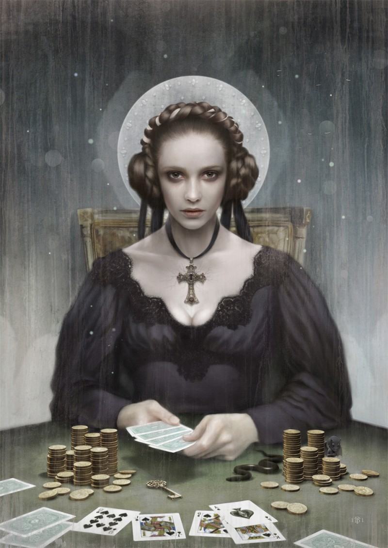 Mans Ruin by Tom Bagshaw