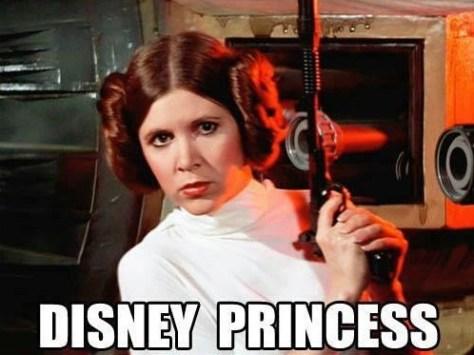 Leia, now a Disney Princess