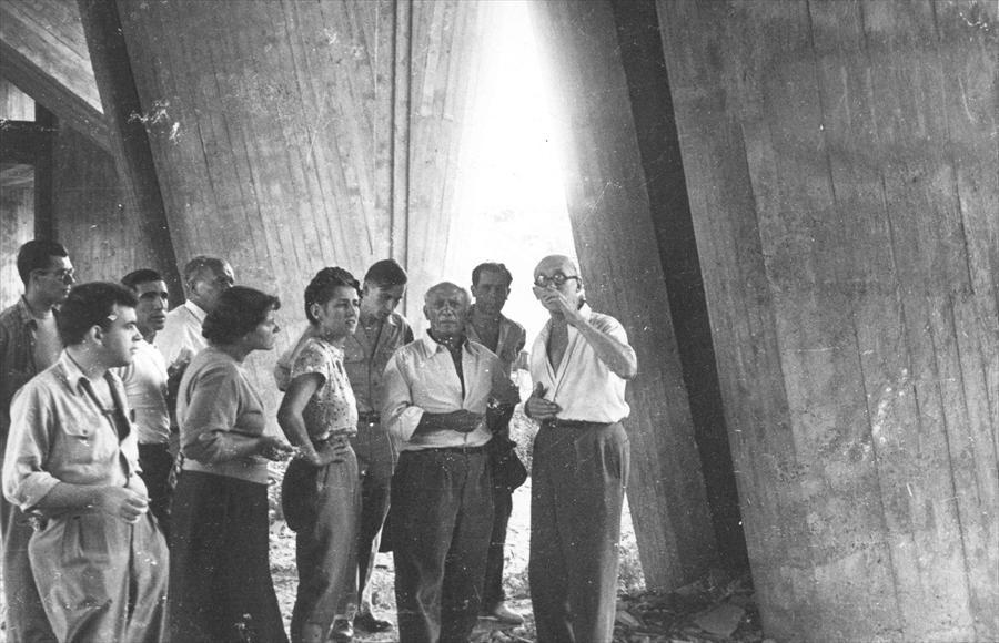 Pablo Picasso y Le Corbusier
