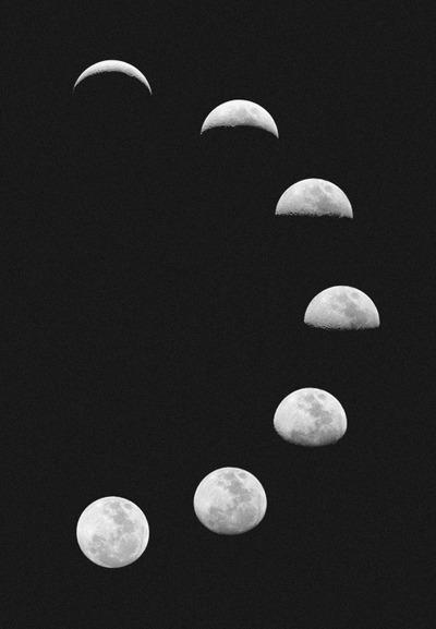 white moon on Tumblr
