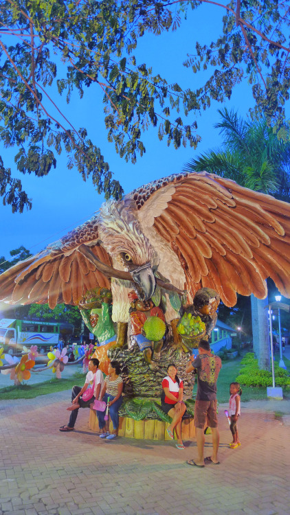 The big eagle of Davao at People's Park