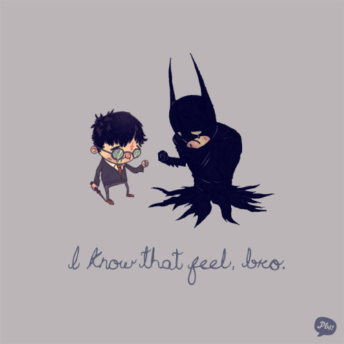 i know that feel batman harry potter