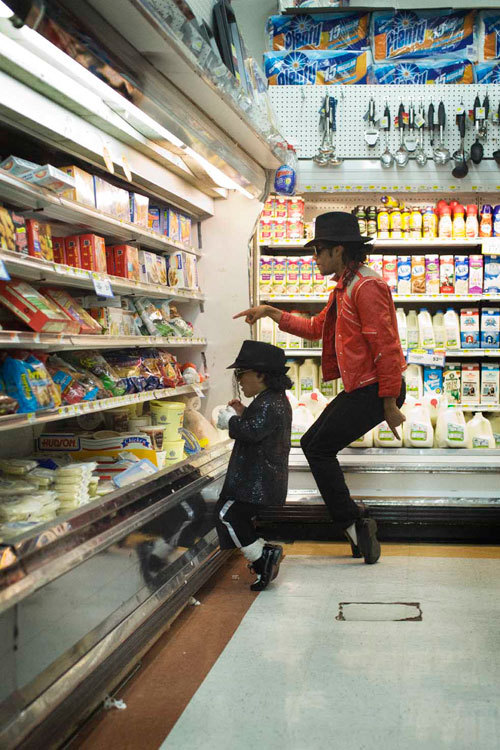 michael jackson goes shopping