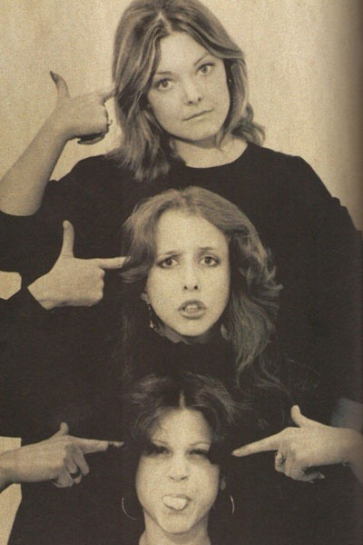 honey-rider:  Jane Curtain, Laraine Newman, and Gilda Radner  When it was organ-twisting funny. Not as funny as NatLamp Radio Hour, of course, but very close.