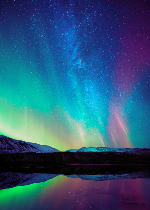 Northern Lights And Southern Lights
