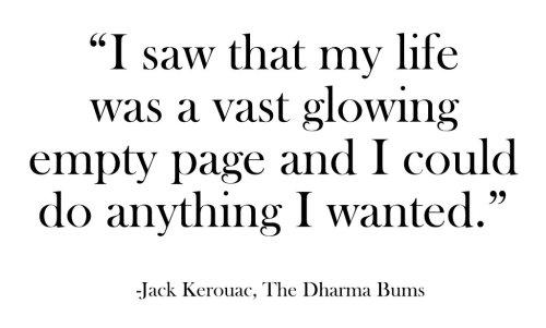 Simple Kerouac Words Will Jack Be