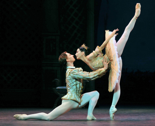 Grande pas de deux - Vadim Muntagirov & Tamara Rojo</p><br /> <p>English National Ballet's 'Sleeping Beauty'<br /><br />