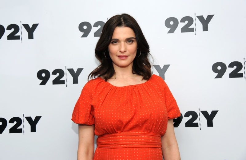 NEW YORK, NY - APRIL 23: Actress Rachel Weisz attends 92nd Street Y Presents: Rachel Weisz on April 23, 2018 in New York City. (Photo by Desiree Navarro/Getty Images)