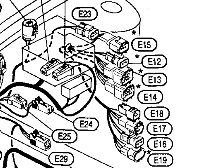 Nissan Silvia Fuse Box Diagram