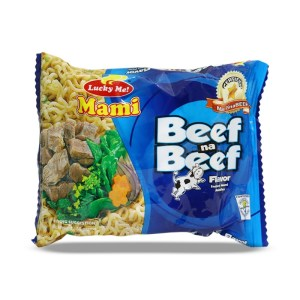 Lucky Me Instant Noodles Beef Flavor 55 g