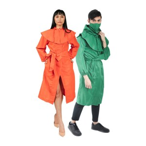 Linda Fashion Gown with Hood